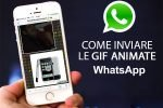 Come inviare gif WhatsApp con iPhone