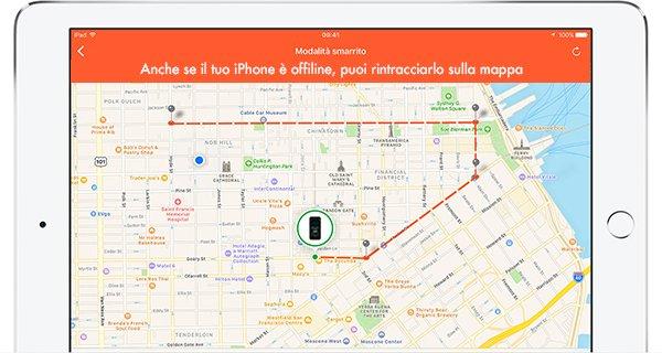 come localizzare l'iphone dal pcc