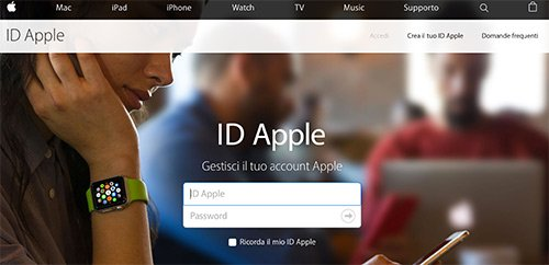 Accesso ID Apple