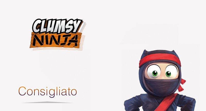 clumsy ninja per iphone