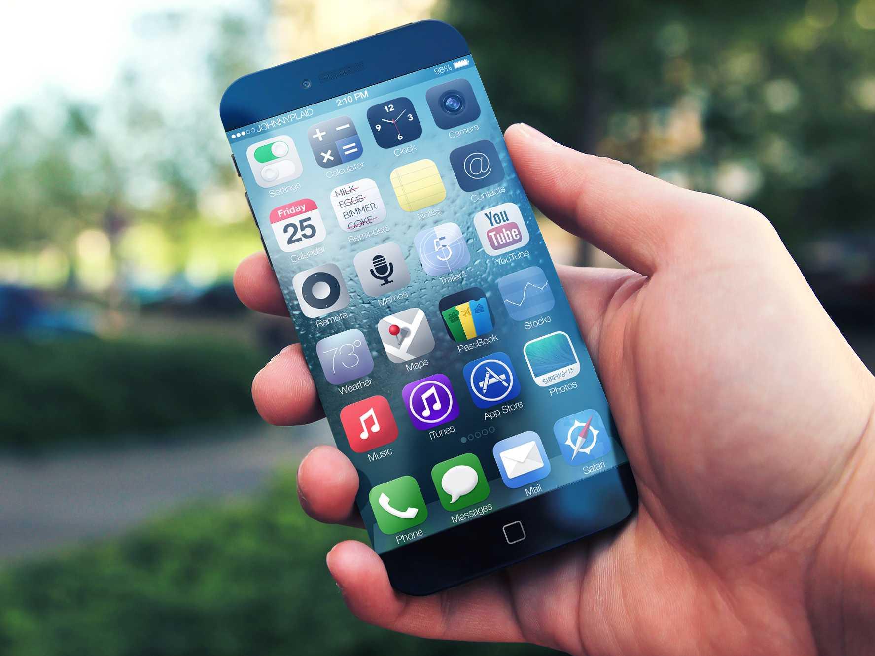 iPhone 6 senza cornici laterali