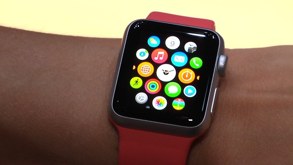Apple Watch al polso