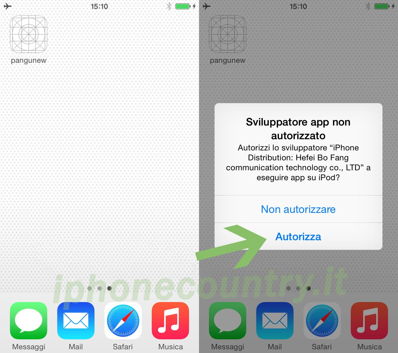 Procedura Jailbreak iOS 8 - Guida