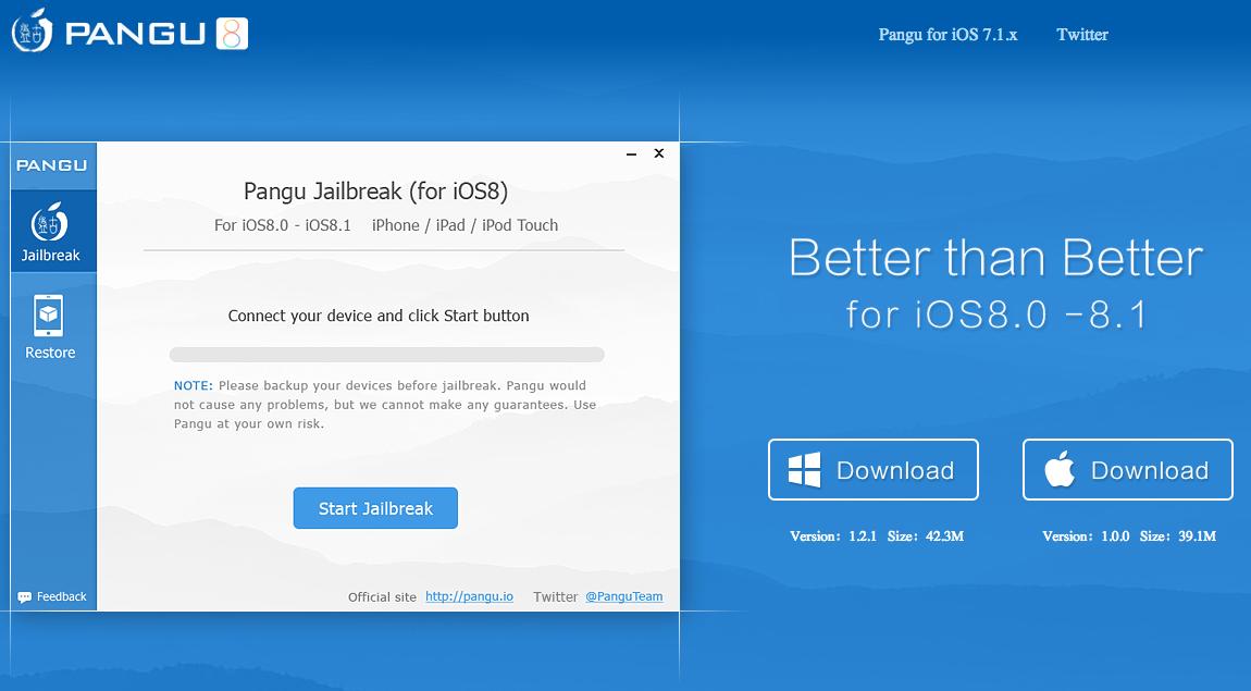 Download Pangu8 Mac