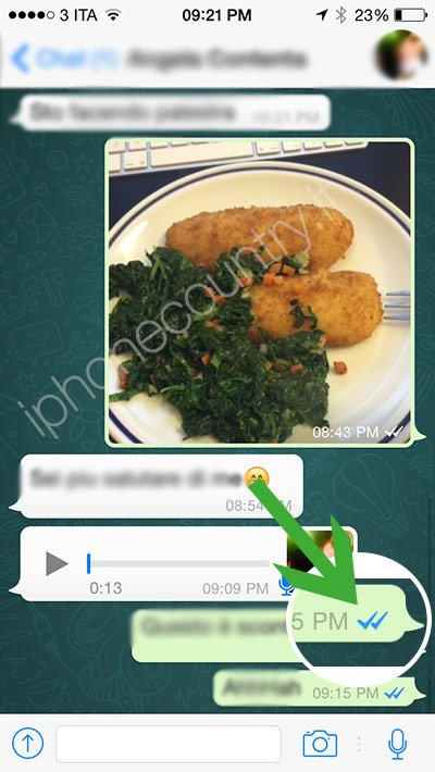 Spunte blu WhatsApp
