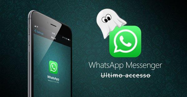 Disattivare ultimo accesso WhatsApp