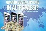 Costo iPhone in altri Paesi del mondo