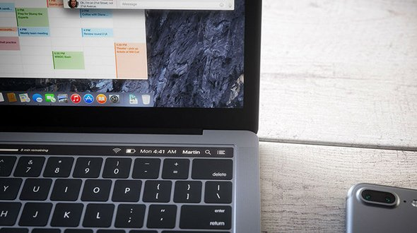 Design di MacBook Pro 2016