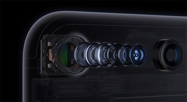 Fotocamera iPhone 7 posteriore