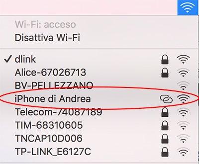 Hotspot personale WiFi