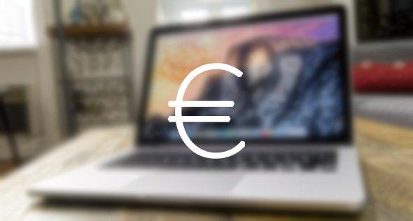 Prezzi di MacBook Pro 2016