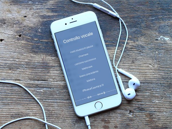 come attivare il controllo vocale su iphone 6s Plus