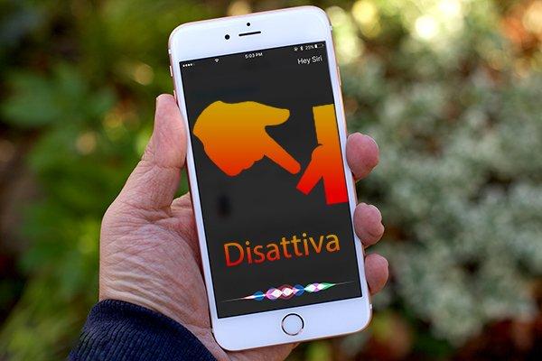 Come disattivare Siri su iPhone