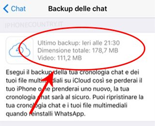 Data backup WhatsApp