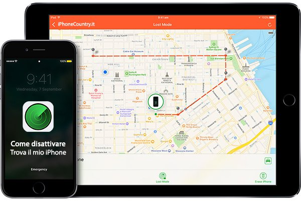 Guida per disattivare Trova il mio iPhone