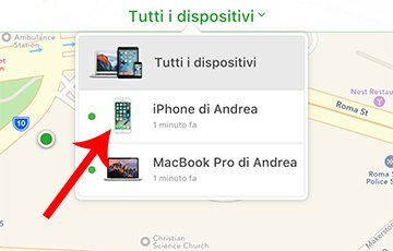 iPhone di Andrea