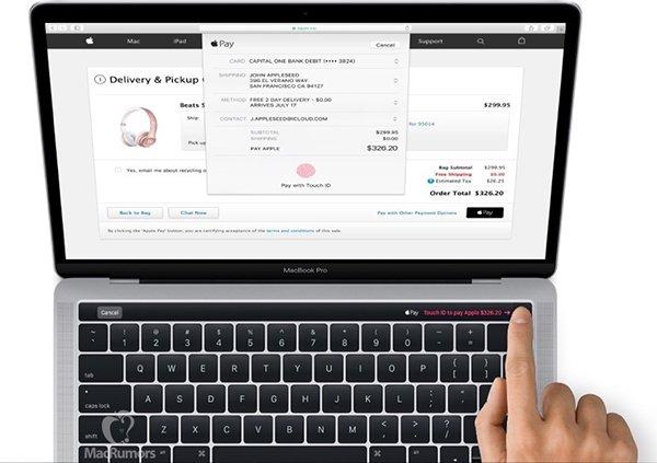 Nuovo MacBook Pro 2016