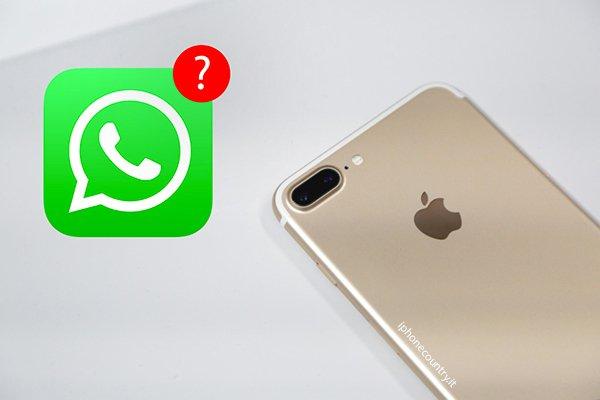 Risolvere problema notifiche WhatsApp