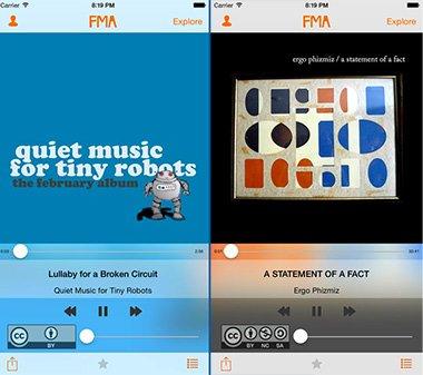 FMA iPhone
