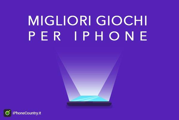 Migliori giochi per iPhone