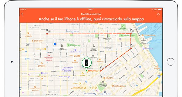 Rintracciare iPhone senza internet