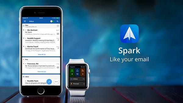 Spark App per iPhone