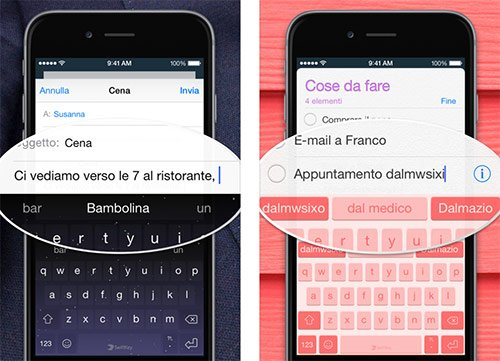 Tastiera Swiftkey iPhone