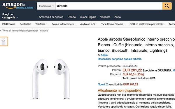 airpods Amazon