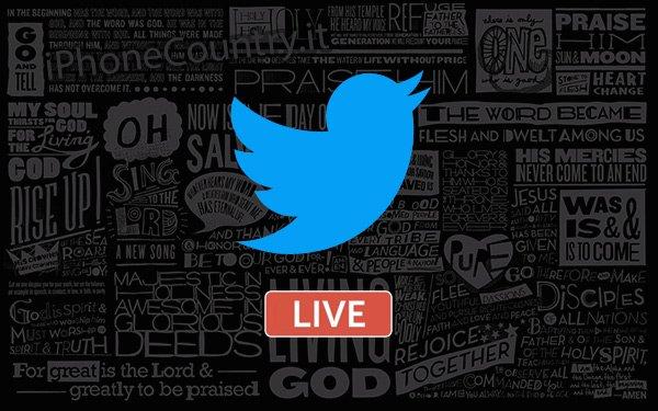 Come fare dirette live su Twitter