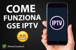 Come funziona GSE IPTV su iPhone e iPad