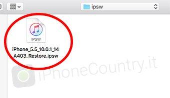 iPSW iOS