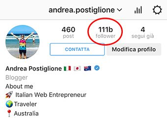 Follower Truccati Instagram