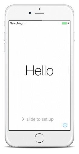 Schermata Hello iOS
