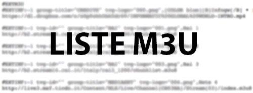 Liste M3U iPhone App