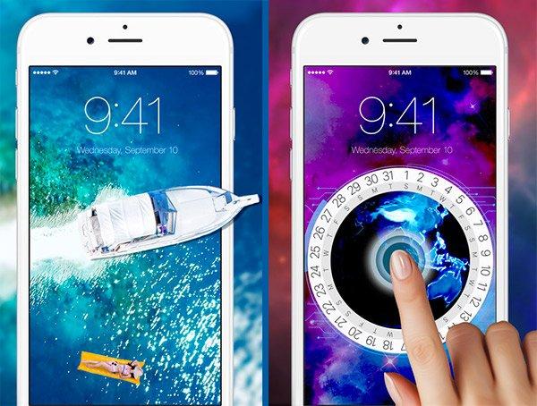 Sfondi animati iPhone 7