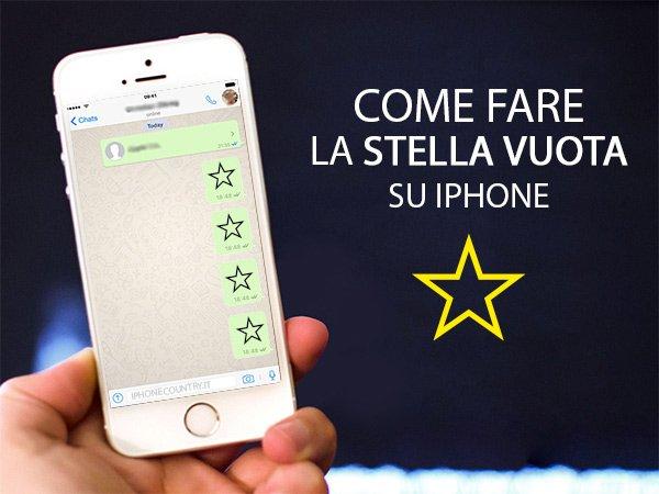 Stella Vuota su iPhone