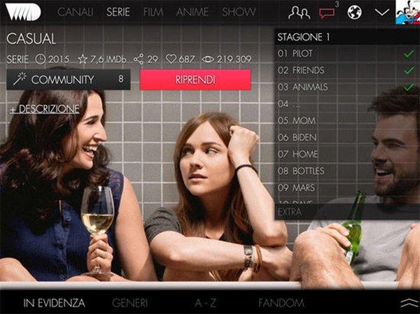 VVVID Film streaming iPad