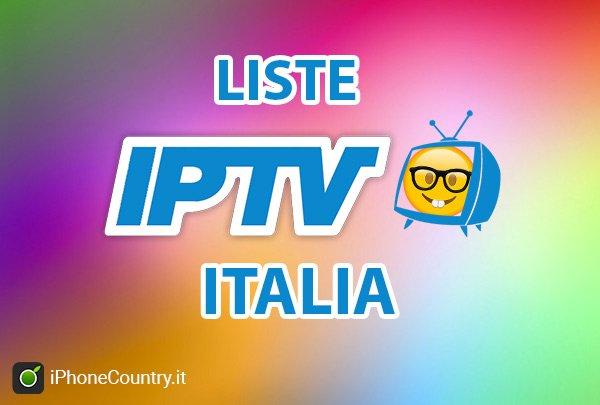 lista m3u italia