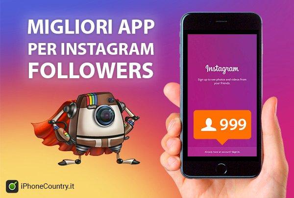 Migliori App Follower Instagram per iPhone