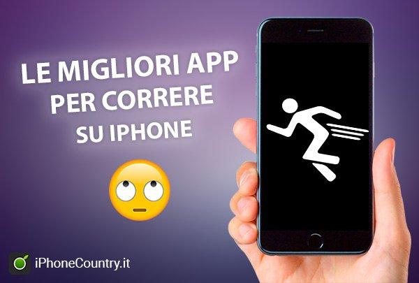 App per correre iPhone