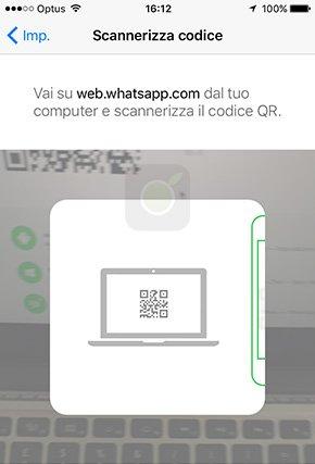 Codice qcode WhatsApp