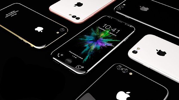 Colori iPhone 8 Concept
