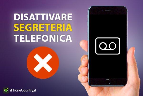 Come disattivare la segreteria telefonica su iPhone