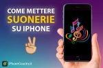 Come mettere suonerie su iPhone