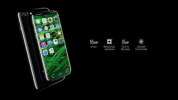 Fotocamera iPhone 8 Concept