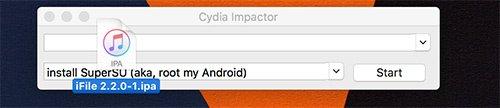 Installare iFile con Cydia Impactor