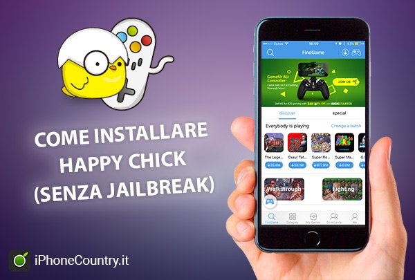 Come installare Happy Chick su iPhone