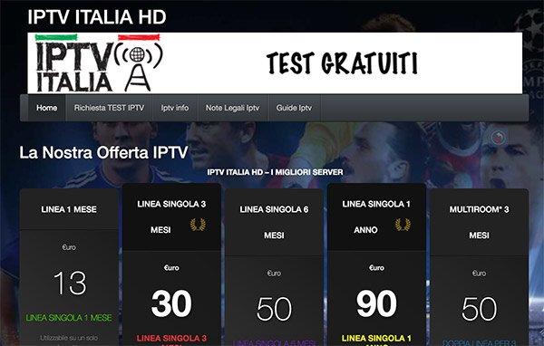 IPTV Italia HD