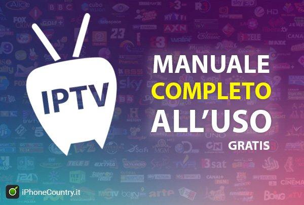 IPTV manuale uso