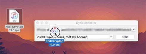 Kodi con Cydia Impactor